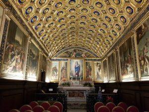 Cappella d'oro santuario della Santissima Annunziata a Gaeta