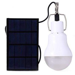 lampadina ricarica solare