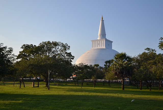 Tempio buddhista Anuradhapura