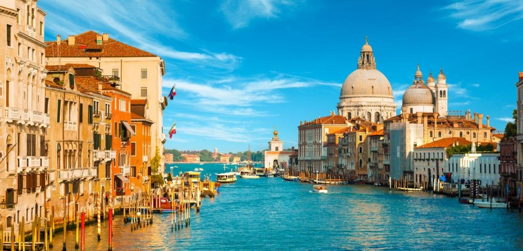 Vista Canal Grande Venezia